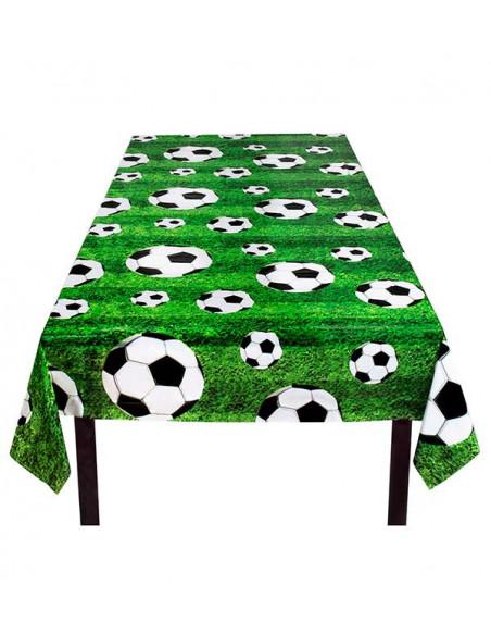Decoración fútbol fiesta temática mantel