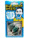 Broma caramelos azules