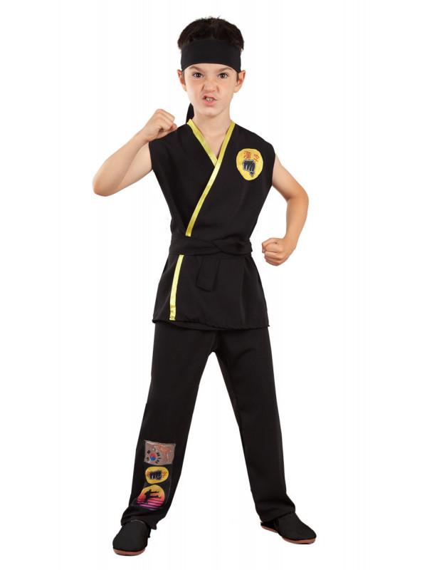 Disfraz Cobra Kai karateca infantil