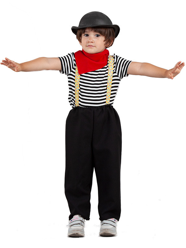 Disfraz mimo para bebé niño
