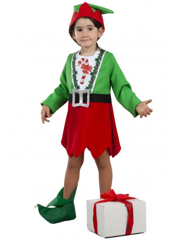 Disfraz elfo bebé niña