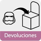 Devoluciones Disfraces Bacanal