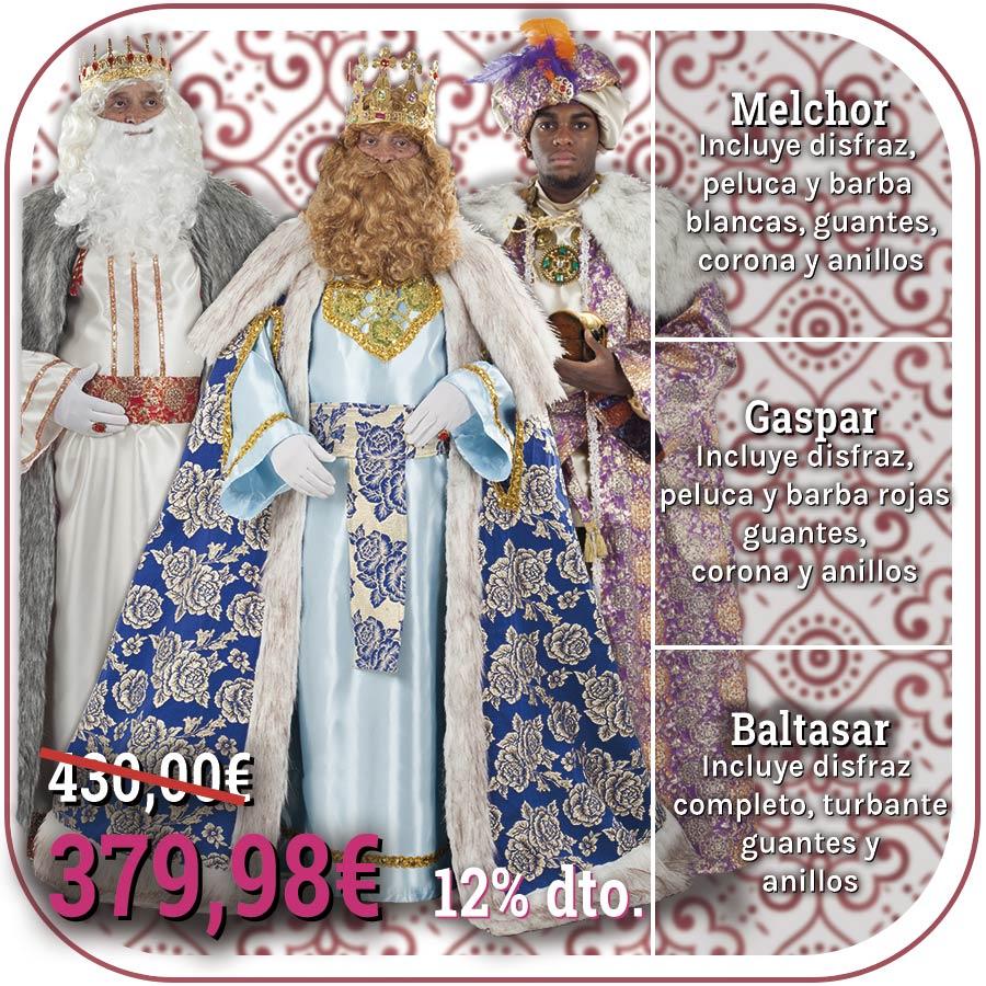 Trajes de Reyes Magos