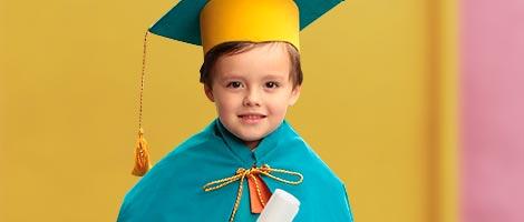 Accesorios de graduación para niños
