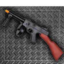 metralletas y pistolas para disfraces