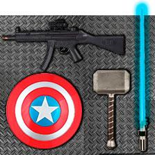Armas para disfraces