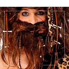 Barbas postizas