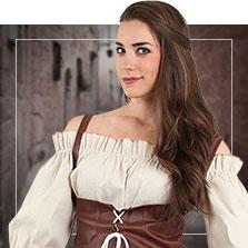 Como hacer un disfraz medieval para mujer