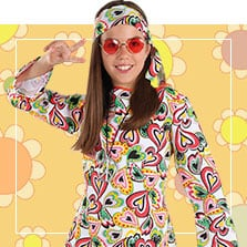 Disfraces Hippies infantiles