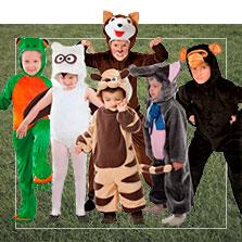 Disfraces en grupo de animales