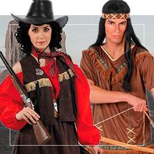 Disfraces de western en grupo