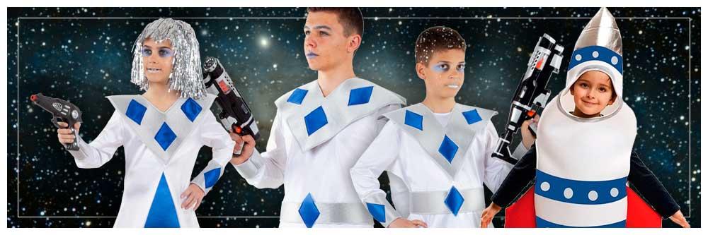 Disfraces de Galácticos en grupo